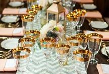 1 Teal, Coral & Gold Wedding / by Raven Daniels