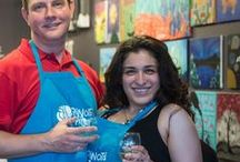 Franchise News / News about the Pinot's Palette franchise system and paint and sip franchisees.
