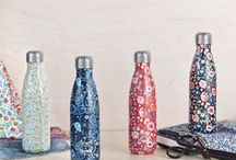 Liberty x S'well / Inspired by the iconic floral and paisley patterns of Liberty Fabrics, our six one-of-a-kind bottles are available exclusively at Starbucks now.