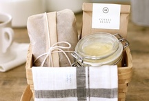 Nifty Gifty / I love to give gifts!  Especially gift baskets full of yummy goodness! / by Erin Mowry