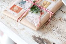 Wrapping & Packages ✄ / Giftwrapping and packages inspiration. / by Marlous van den Hoogen