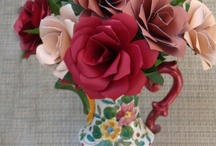 Paper Flower Bouquets / Wonderful colorful everlasting paper flowers / by Carole Farber
