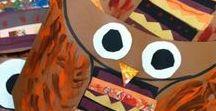 Owls: Art for Kids
