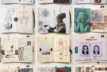 Inspiration-journals & Sketch books