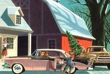 vintage...retro...christmas... / by Jacquie Jeffery