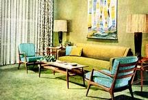 retro...home...interior design... / by Jacquie Jeffery