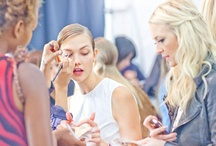 NYC S/S13 Behind the Scenes / What happens on the runway gets most of the attention each season, but trust us—there's plenty of excitement going on behind the scenes as well. / by Marie Claire