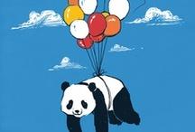 me ❤ panda