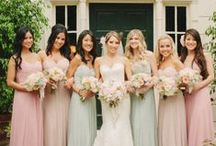 Bridesmaids / Every bride needs her girls on her wedding day! Celebrating all things beautiful bridesmaids need to look and feel amazing on their bestie's big day!