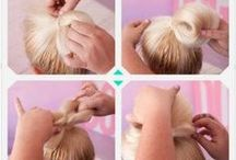 Hair Tutorials / Here you'll find some interesting hairstyle for various occasions! We've also added some products from Style36 Beauty and tools that will help you top achieve these looks.
