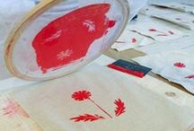 Stamp Carving + Printmaking / by Erin Mowry