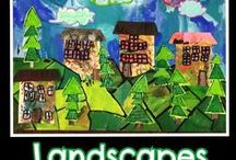 Landscapes / Art Projects for Kids