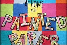 At Home with Painted Paper