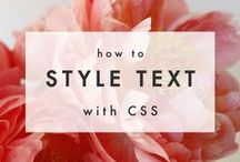 CSS/HTML / by Beauty Aesthetic