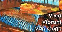 Vincent Van Gogh / Art Lessons / Art Projects for Kids / Landscapes inspired by Vincent Van Gogh