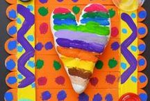 Valentine's Day Art / Art Projects for Kids
