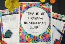 Art Teacher Planner / The Organized Art Teacher | Teacher Planners | Art Teacher Lesson Plans | Painted Paper Art