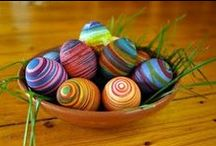 Sprightly Spring / Ideas, techniques and tutorials for making Easter and spring related crafts