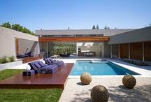 Outdoor Spaces / Outdoor Spaces + Courtyards