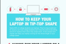 007 IT-o-logy / Internet related infographics, statistics and laptop hacks.