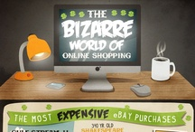 007 eCommerce Cart / Ecommerce related infographics, guides, problems, mistakes, what motivates people to buy online.