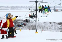 Christmas at Asessippi / Santa loves to visit Asessippi in December.   / by Asessippi Ski Area & Resort