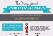 007 Handy Personal Branding Hacks / 1. Your brand is what people say about you when you're not in the room. - Jeff Bezos 2. Be so good they can't ignore you. - Steve Martin 3. Passion is personal branding fuel.  4. Be yourself, everyone else is taken - Oscar Wilde
