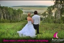 Asessippi Weddings / Tie the Knot at the Top!  Weddings by Asessippi Resort / by Asessippi Ski Area & Resort