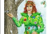 Tarot Empress Cards / The Empress card from various Tarot decks