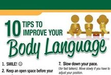 007 Body Language Revealed / Your body language shapes who you are! Have a look at the infographics to learn to read body language.