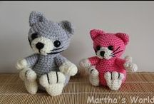 Crochet - Cats & Kitties / my work :)
