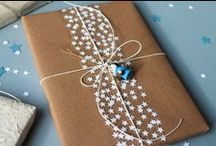 Gift Wrap Goodness / Inspiration for pretty packaging