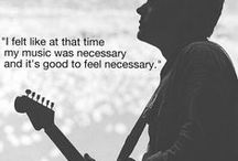 ROCK STAR QUOTES / Beautiful quotes about music from rock stars and music fans alike.