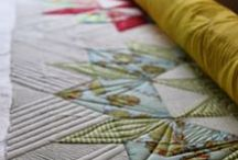 Quilting Detail Shots / inspiration photos