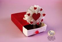 Very Valentine Creations / Ideas, techniques and tutorials for making Valentine  crafts.