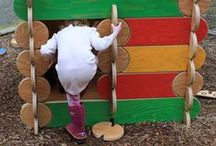 The 'Hoos Life: wooden playsets kids love / Bilderhoos and kids.