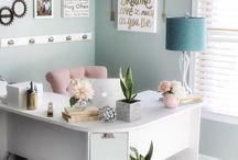 "Office Decor / Love a good ""She Space"""