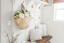 Laundry/Mudroom Inspo / I have the smallest mudroom on Earth.. but if for some reason I EVER have the chance to make it over