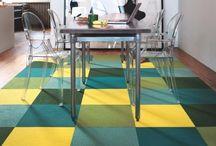Carpet Tiles / FLOR Carpet Tiles