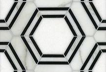 Tile / Tile for interior design. Porcelain ceramic and other tile designs.