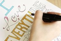 Paper & Fonts / by Samantha Moulder