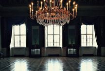"Chandeliers & Lights / It's probably because of ""Phantom of the Opera,"" but I love chandeliers. / by Alison Emmert"