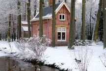 Great Exterior Spaces / Beautiful Exterior Spaces - from cabins to castles...  / by Niki Myers Hansen