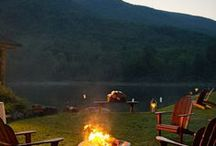 Camping and Outdoor Adventure / Great Camping Ideas... including campfire food & canoeing... / by Niki Myers Hansen