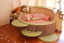 Children's Decor / Kids' bedrooms, playrooms and other child-related interiors or exteriors.