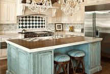 Dining Rooms & Kitchens / Dining rooms and kitchens. / by Alison Emmert