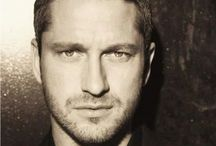 "Gerard Butler / Scottish actor Gerard Butler of ""Phantom of the Opera,"" ""300,"" ""The Gamer,"" ""How to Train Your Dragon,"" ""The Ugly Truth,"" ""The Bounty Hunter,"" ""Dear Frankie,"" ""P.S. I Love You,"" etc... / by Alison Emmert"