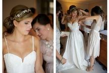 brides getting ready! / Gorgeous & fun brides getting ready for their big day.