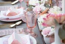 ::Inspiration - PINKS:: / Inspiration for your pink bridal palette