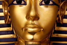 Tutankhamun, Egyptian Art and All Things Egypt / by Janis Oncay
